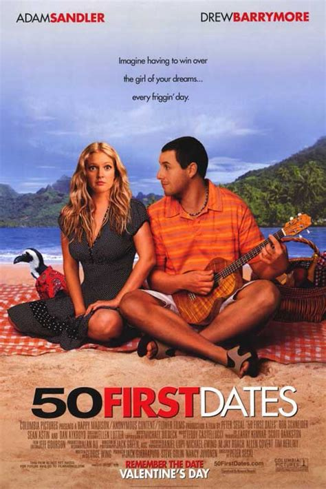 50 First Dates 2004 50 First Dates Movie Posters From Movie Poster Shop