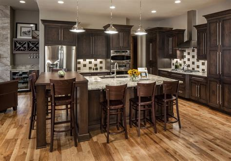 Rustic Chic Kitchen by Rustic Chic Lakehouse Transitional Kitchen Omaha