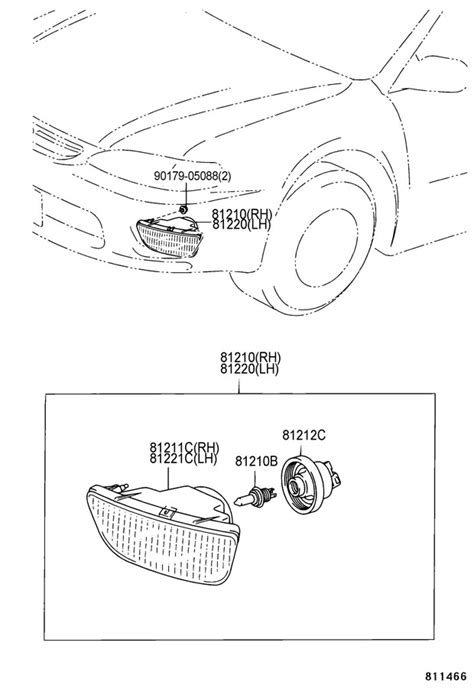 Toyota Corolla 2000 Parts 2000 Toyota Corolla Parts Diagram Images