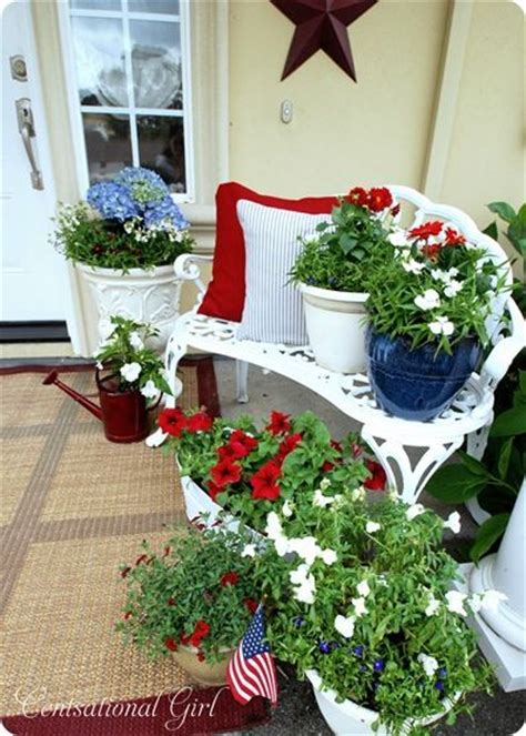 Patriotic Garden Decor Garden Idea Easy Idea