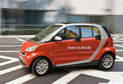 smart car four door report smart planning new fortwo 2 four seat city car