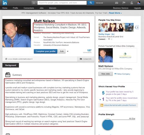 How To Search For On Linkedin How To Increase Your Search Rank On Linkedin