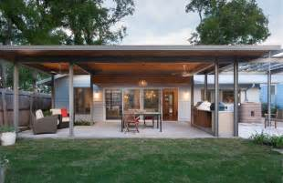 Carports Attached To House french place cottage contemporary patio austin by
