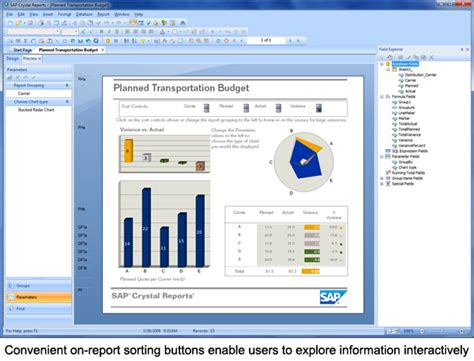 label design in crystal report sap crystal reports popular design features