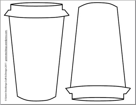 coffee cup template paper coffee cup coloring pages coloring pages