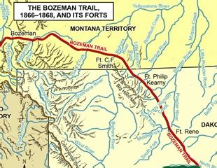 bozeman trail map 21 best images about history of americans on