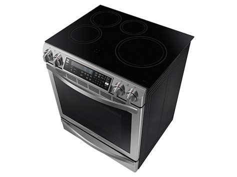 Samsung Induction Range 5 8 Cu Ft Slide In Induction Chef Collection Range With Flex Duo Oven Ranges Ne58h9970ws Aa