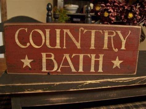 primitive bathroom signs primitive country bath sign bathroom signs pinterest