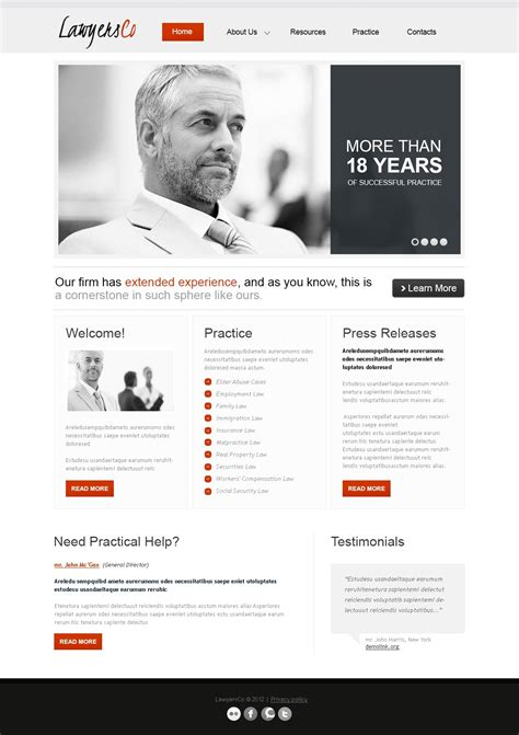 Law Firm Responsive Website Template 39606 Firm Responsive Website Template