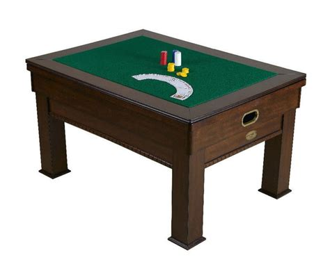 3 in 1 rectangular bumper pool card dining table walnut
