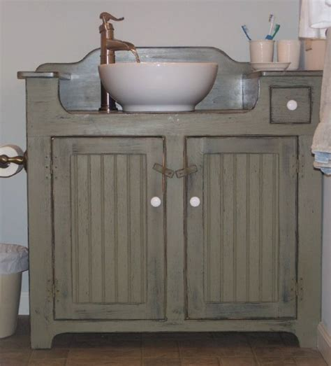 Country Style Bathroom Vanity Design Inspiration Through The Front Door