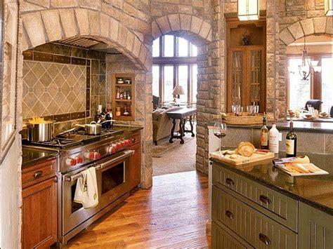 kitchen alcove ideas kitchen with stone oven surround dream home ideas