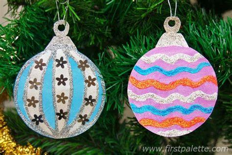 Ornaments Paper Crafts - printable tree ornaments craft crafts