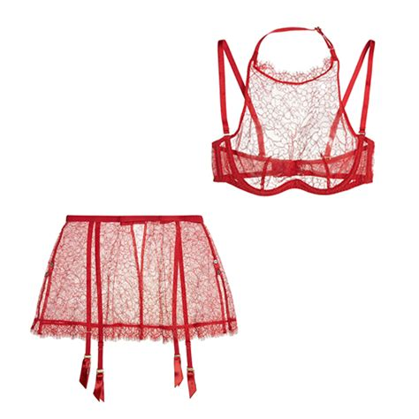valentines day lingeri the best looks for valentine s day vogue