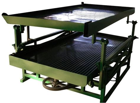 deck high capacity gold shaking table