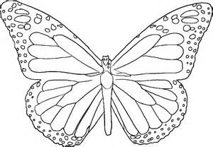 large butterfly template printable butterfly templates to print coloring home