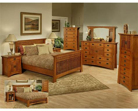 oak furniture bedroom set oak bedroom set in cherry finish bungalow by ayca ay ap5