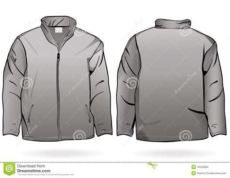 jacket design template cdr men s jacket or sweatshirt template stock images image