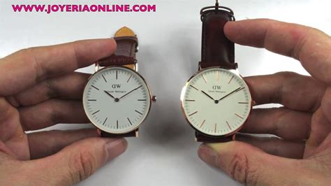 Daniel Wellington Original daniel wellington original vs imitaci 211 n