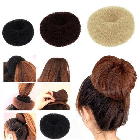 Hair Accessories Bun by Hair Bun Donut Ring Shaper Styler Maker Hair