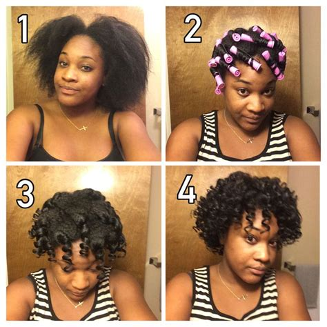 how to do a perm rod set on short relaxed hair twist and roll method perm rod set on 1 year transitioning