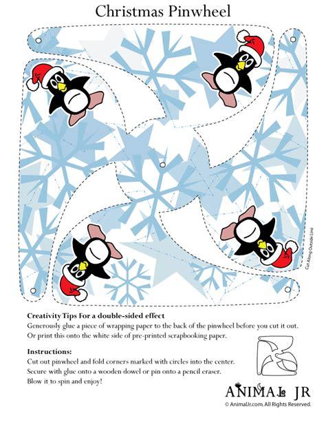 Halloween Craft Preschool - penguin printable pinwheel craft woo jr kids activities