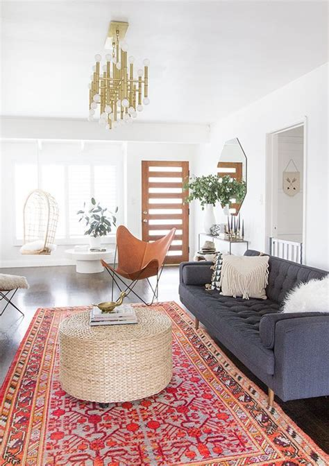 beautiful diy vintage home decorating ideas together with rugs home decor modern bohemian inspired living room