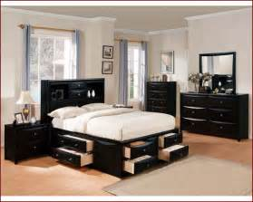Acme furniture bedroom set in black ac14125tset