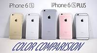 iPhone 6s & iPhone 6s Plus : Color Comparision (Which Color to Buy?)