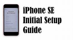 How to Set Up Apple iPhone SE 2020 - Initial Setup Guide
