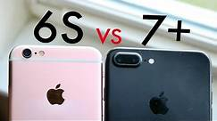 iPhone 6S Vs iPhone 7 Plus On iOS 13! (Speed Comparison) (BETA)