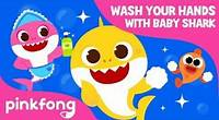 Wash Your Hands with Baby Shark | Baby Shark Hand Wash Challenge | @Baby Shark Official