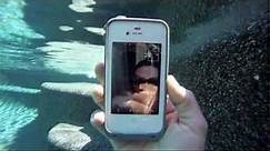 iPhone 4s FaceTime video underwater with LifeProof case | MicBergsma