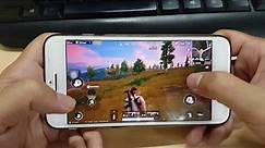Test game PUBG Mobile on iPhone 8 Plus