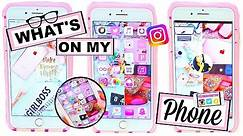 What's On My iPhone 7 Plus Rose Gold?! Cute Icon & Wallpaper HACKS! | Make Your Apps Look Cool