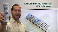 ANDERIC RR242WT Sharp TV Remote Control - www.ReplacementRemotes.com