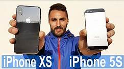 iPhone XS Camera vs iPhone 5S - FIVE YEARS Comparison 2019