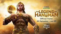 Hotstar Specials The Legend of Hanuman | Official Trailer | Now Streaming