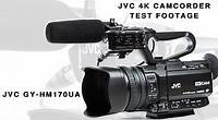 Demo Footage from JVC GY-HM170UA 4K Video Camcorder