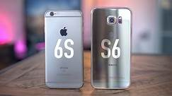 Apple iPhone 6s vs Samsung Galaxy S6!