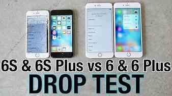 iPhone 6S VS iPhone 6S Plus Drop Test VS iPhone 6 & iPhone 6 Plus!