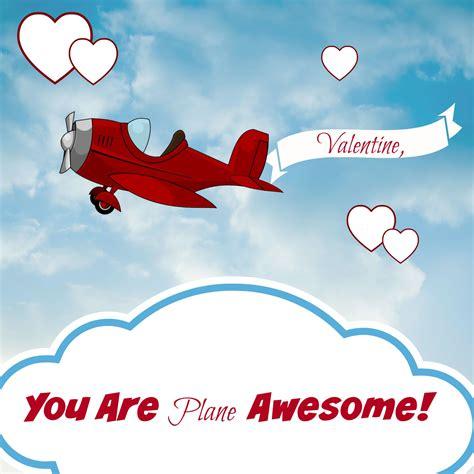Galerry printable airplane valentines