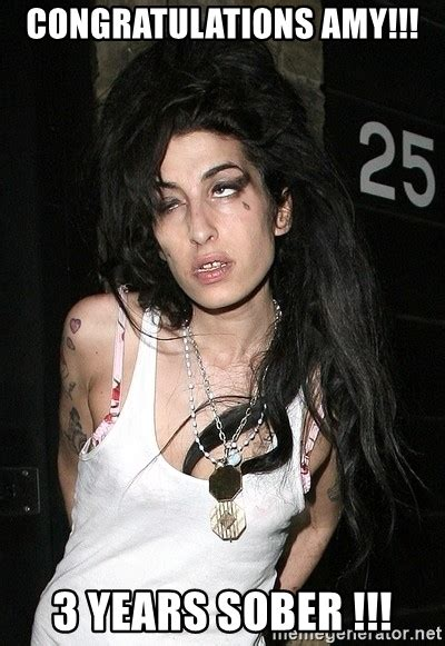 Amy Winehouse Sober
