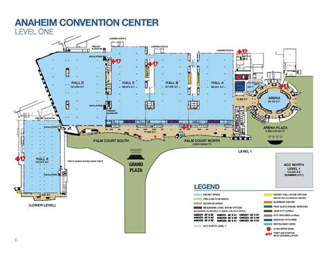 Anaheim Convention Center Map