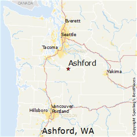 Ashford Washington Map