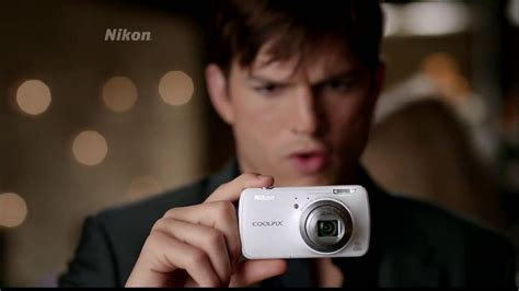 Ashton Kutcher Nikon Coolpix Camera