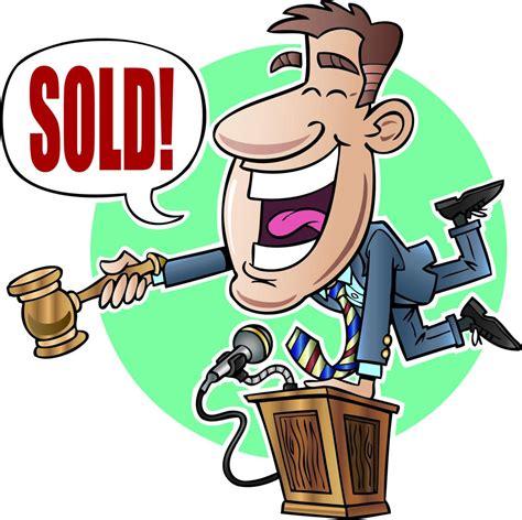 Auction Cartoon