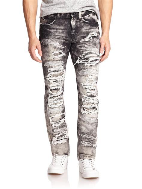 Black Destroyed Jeans