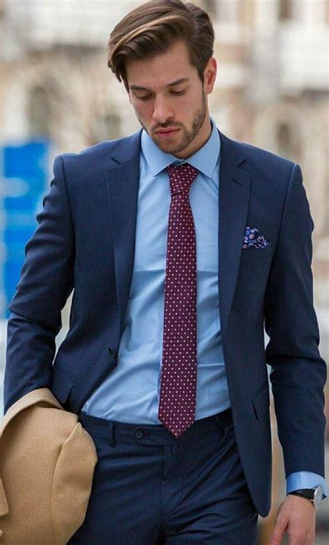 Blue Suit Fashion