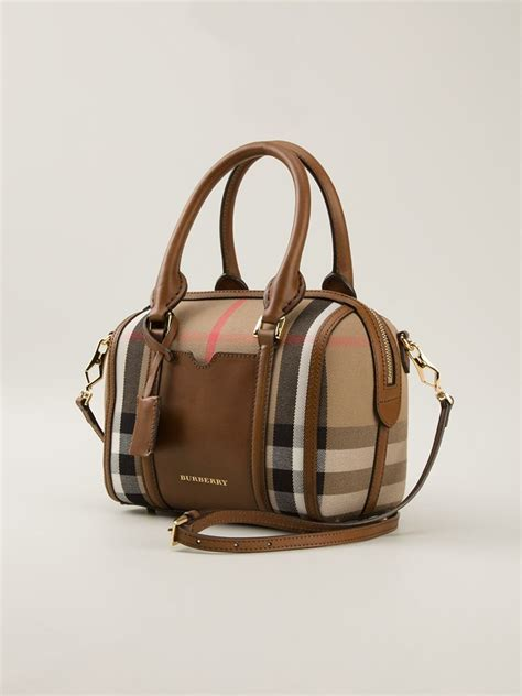 Burberry House Check Bowling Bag